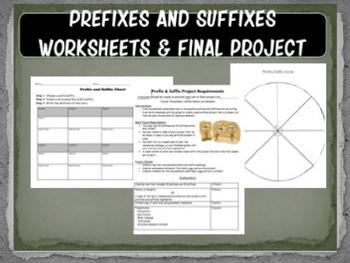 Prefixes and Suffixes Mini-Unit