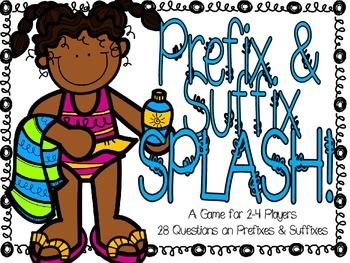 Prefix and Suffix SPLASH!