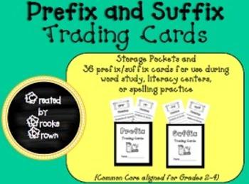 Prefix and Suffix Trading Cards {Grades 2-4}