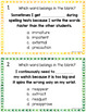 Prefixes Posters, Task Cards, and Printables