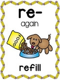 Prefixes Posters and Picture Cards for Center Activities