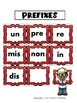Prefixes and Suffixes for Literacy Centers