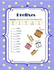 Prefixes and Suffixes Charts and Sort