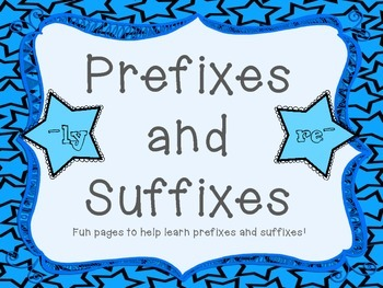 Prefixes and Suffixes Sampler