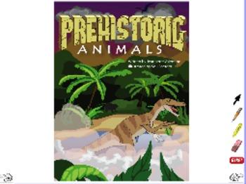 Prehistoric Animals - ActivInspire Flipchart - Interactive