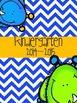 Prek-6th Teacher Orginizational Binder: Little Monsters