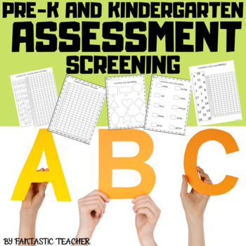 Prek and Kindergarten Assessment screening
