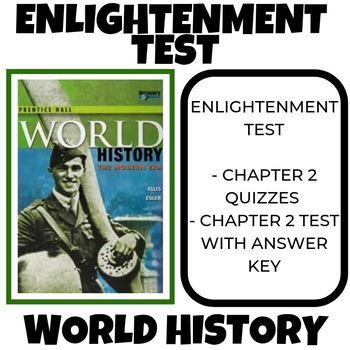 Enlightenment Test Prentice Hall World History
