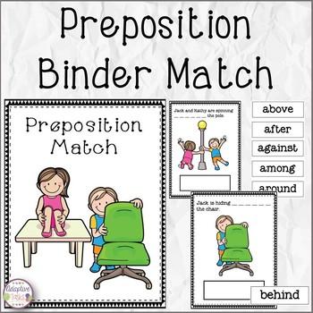 Preposition Binder Match