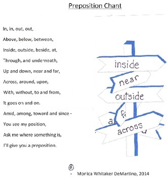 Preposition Chant