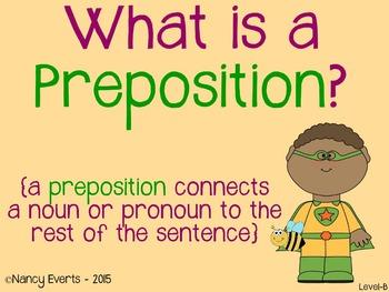 Preposition Superhero