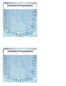 Preposition practice