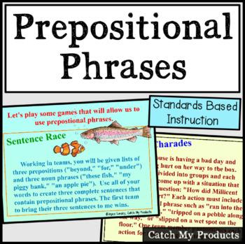 Prepositional Phrases for the Promethean Board