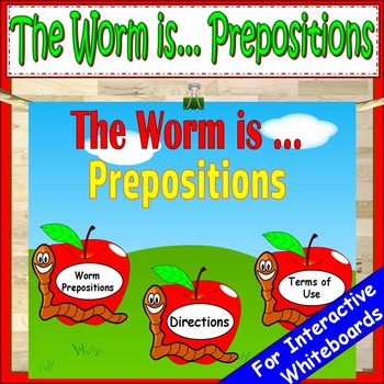 Prepositions Kindergarten First Grade