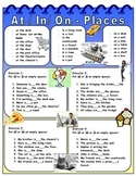 Prepositions At / In / On -Places