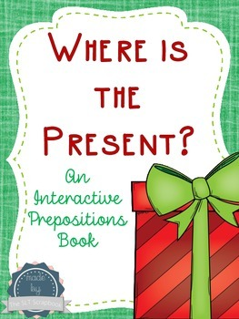 Prepositions- Christmas Themed Interactive Book