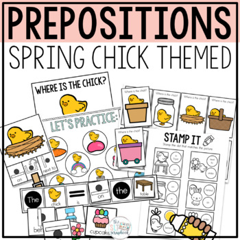 Prepositions- Interactive Book and Worksheets- Where is th