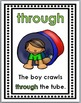Prepositions Posters, Matching Activity, and Printables ~