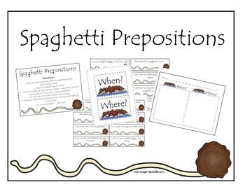 Prepositions Spaghetti
