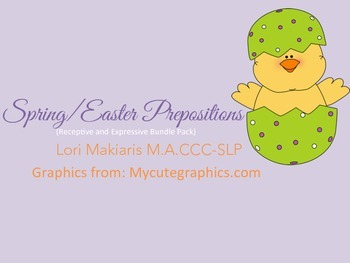 Prepositions - Spring and Easter
