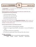 Prepositions: Ten-Minute Grammar Unit #23