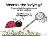 Prepositions: Where's The Ladybug