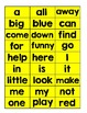 Preprimer Sight Word Match and Write