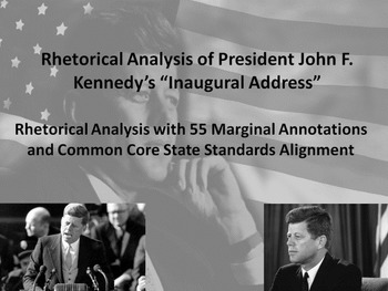 Pres. John F. Kennedy's First Inaugural Address Common Cor