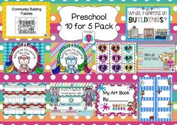 Preschool 10 for 5 Bundle