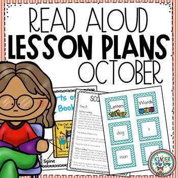 Read Aloud Lesson Plans for October - Preschool