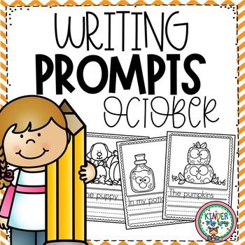 October Writing Prompts Preschool