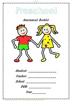 Preschool Assessment Booklet