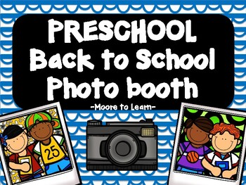 Preschool Back to School Photo Booth 2016