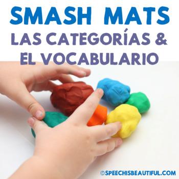 Preschool Basic Categories Smash Mats {SPANISH} - Sorting