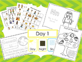Preschool Bible Curriculum. Games, Worksheets, Flashcards,