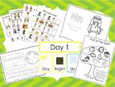 Preschool Bible Curriculum. Games, Worksheets, Flashcards,