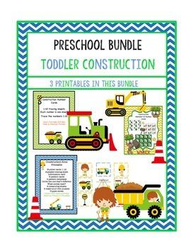 Preschool Bundle Toddler Construction