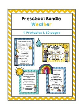 Preschool Bundle Weather