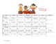Preschool Calendar Activities for  2016-2017