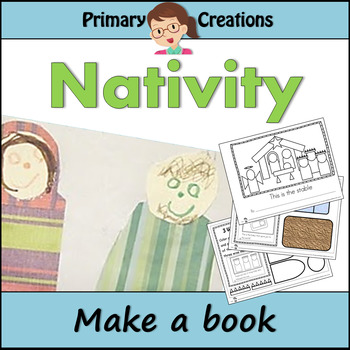 Preschool Christmas Nativity Activity