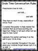 Preschool Circle Time Conversation Rules