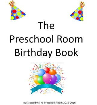 Classroom Birthday Book