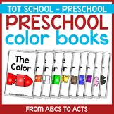 Preschool Color Books