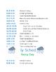 Preschool Daily Schedule Owl Theme