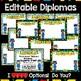 Preschool Graduation Ceremony Kit, Diplomas, Invitations,