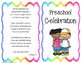 Editable Preschool Graduation/Celebration Printables