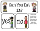 """Preschool Group Time Activity #24 ~ """"Can You Eat It?"""""""