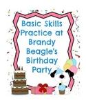 Preschool - Kindergarten Literacy & Math Practice & Review
