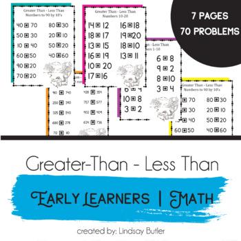 Greater Than Less Than Fractions Worksheet & worksheet 612792 math ...