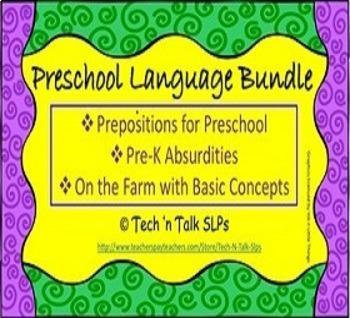 Preschool Language Bundle